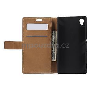 Peněženkové pouzdro na Sony Xperia M4 Aqua - Socha Svobody - 4