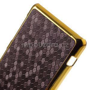 Elegantný obal pre mobil Sony Xperia Z1 Compact - fialový - 4