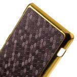 Elegantný obal pre mobil Sony Xperia Z1 Compact - fialový - 4/5