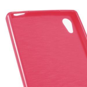 Gloss lesklý gélový obal pre Sony Xperia Z5 - rose - 4