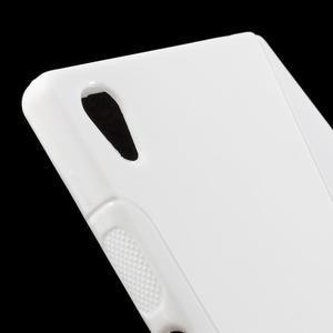 Sline gelový kryt na mobil Sony Xperia Z5 - bílý - 4