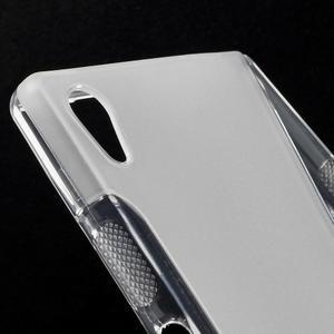 Sline gélový kryt pre mobil Sony Xperia Z5 - transparentné - 4