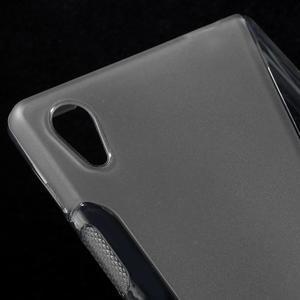 Sline gélový kryt pre mobil Sony Xperia Z5 - sivý - 4