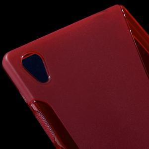 Sline gélový kryt pre mobil Sony Xperia Z5 - červený - 4