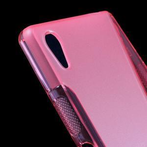 Sline gélový kryt pre mobil Sony Xperia Z5 - rose - 4
