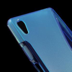 Sline gélový kryt pre mobil Sony Xperia Z5 - modrý - 4