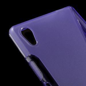 Sline gelový kryt na mobil Sony Xperia Z5 - fialový - 4