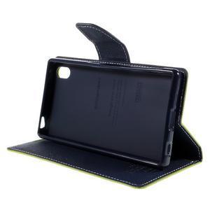 Mercur peněženkové pouzdro na Sony Xperia Z5 - zelené - 4