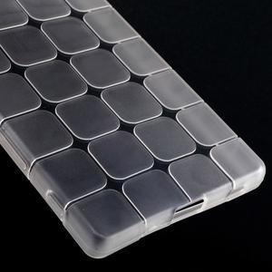 Square gelový obal na Sony Xperia Z5 - bílý - 4
