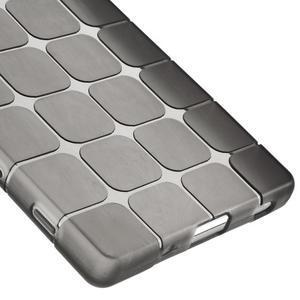 Square gélový obal pre Sony Xperia Z5 - sivý - 4