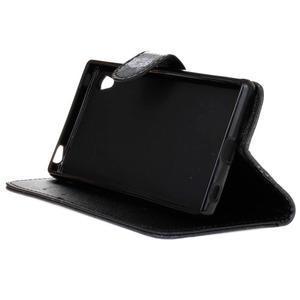 Koženkové puzdro pre mobil Sony Xperia Z5 - sova - 4