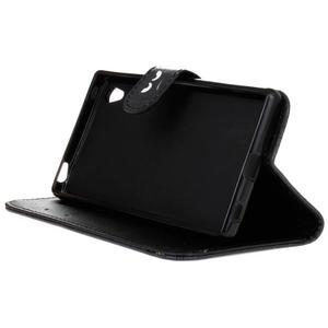 Koženkové puzdro pre mobil Sony Xperia Z5 - nedotýkať sa - 4