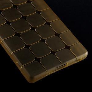 Square gélový obal pre Sony Xperia Z5 - zlatý - 4