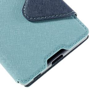 Diary pouzdro s okýnkem na Sony Xperia Z5 - světlemodré - 4