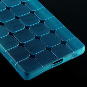 Square gélový obal pre Sony Xperia Z5 - modrý - 4