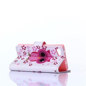Sand puzdro pre mobil Sony Xperia Z5 Compact - sovička - 4