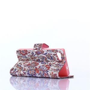 Sand puzdro pre mobil Sony Xperia Z5 Compact - retro kvetiny - 4