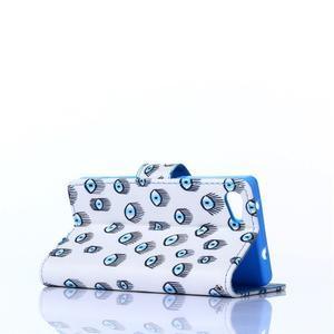 Sand puzdro pre mobil Sony Xperia Z5 Compact - modrá očká - 4