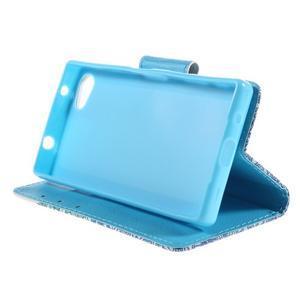 Diary Peňaženkové puzdro pre Sony Xperia Z5 Compact - slon - 4
