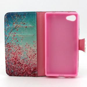 Kelly puzdro pre mobil Sony Xperia Z5 Compact - kvitnúce strom - 4