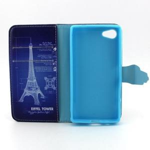 Kelly puzdro pre mobil Sony Xperia Z5 Compact - Eiffelova veža - 4