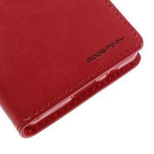 Bluemoon PU kožené pouzdro na Sony Xperia Z5 Compact - rose - 4