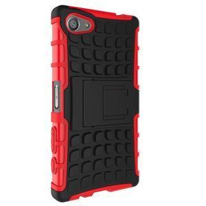 Outdoor odolný kryt na mobil Sony Xperia Z5 Compact - červený - 4