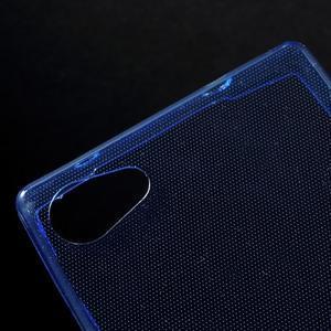 Ultratenký slim gelový obal na Sony Xperia Z5 Compact - modrý - 4