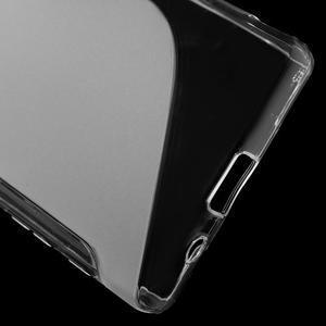 S-line gelový obal na Sony Xperia Z5 Compact - transparentní - 4