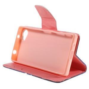 Wally peněženkové pouzdro na Sony Xperia Z5 Compact - kouzelní motýlci - 4
