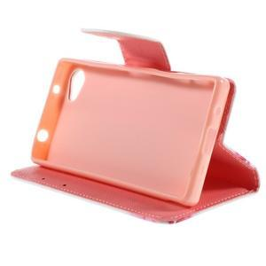 Wally Peňaženkové puzdro pre Sony Xperia Z5 Compact - srdce - 4