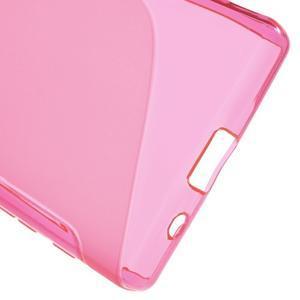 S-line gelový obal na Sony Xperia Z5 Compact - rose - 4