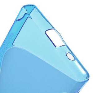 S-line gélový obal pre Sony Xperia Z5 Compact - modrý - 4