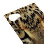 Gélový obal pre mobil Sony Xperia Z5 Compact - leopard - 4/5
