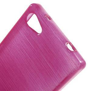 Brush gélový obal pre Sony Xperia Z5 Compact - rose - 4