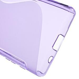 S-line gélový obal pre Sony Xperia Z5 Compact - fialový - 4