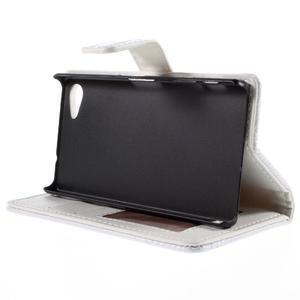 Croco Peňaženkové puzdro pre Sony Xperia Z5 Compact - biele - 4
