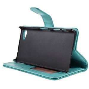 Croco Peňaženkové puzdro pre Sony Xperia Z5 Compact - modré - 4