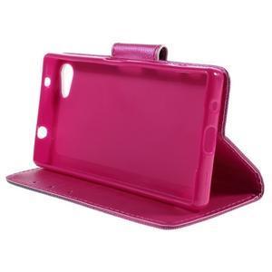 Diary Peňaženkové puzdro pre Sony Xperia Z5 Compact - srdce - 4