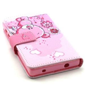 Peňaženkové puzdro pre mobil Sony Xperia Z5 Compact - medvedík - 4
