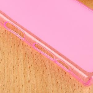 Double matný gelový obal na Sony Xperia Z5 Compact - rose - 4