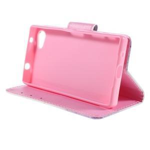 Diary Peňaženkové puzdro pre Sony Xperia Z5 Compact - púpavy - 4