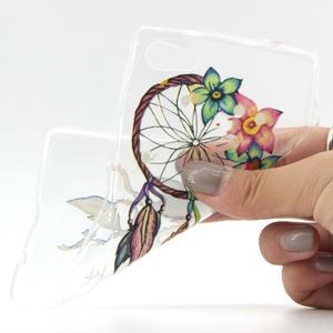 transparentné gélový obal pre Sony Xperia Z5 Compact - dream - 4