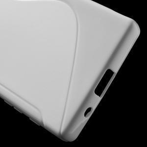 S-line gélový obal pre Sony Xperia Z5 Compact - biely - 4