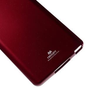 Jells gélový obal pre mobil Xiaomi Mi Note - červený - 4