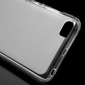 Matný gélový obal pre mobil Xiaomi Mi5 - biele - 4