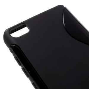 S-line gélový obal pre mobil Xiaomi Mi5 - čierný - 4