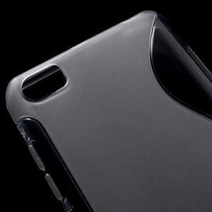 S-line gélový obal pre mobil Xiaomi Mi5 - sivý - 4