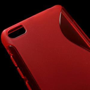 S-line gélový obal pre mobil Xiaomi Mi5 - červený - 4