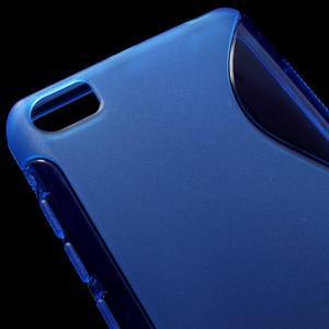 S-line gélový obal pre mobil Xiaomi Mi5 - modrý - 4